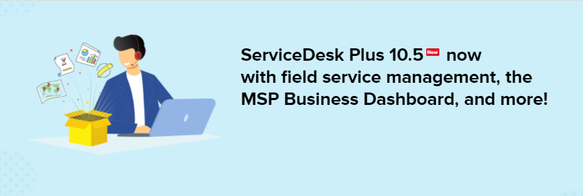 ServiceDesk Plus MSP Workflow Diagram